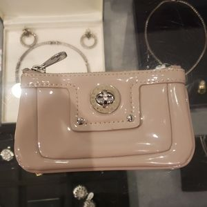 Marc by Marc Jacobs Keychain Tan Coin Wallet